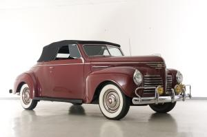 1940 Plymouth Deluxe P-10 Convertible Coupe